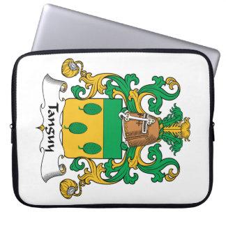 Escudo de la familia de Tanguy Funda Computadora