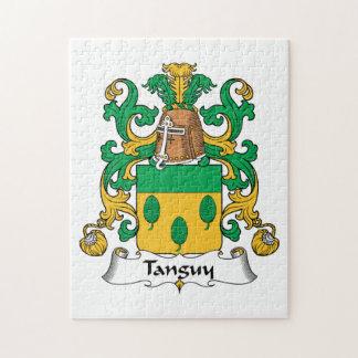 Escudo de la familia de Tanguy Puzzle