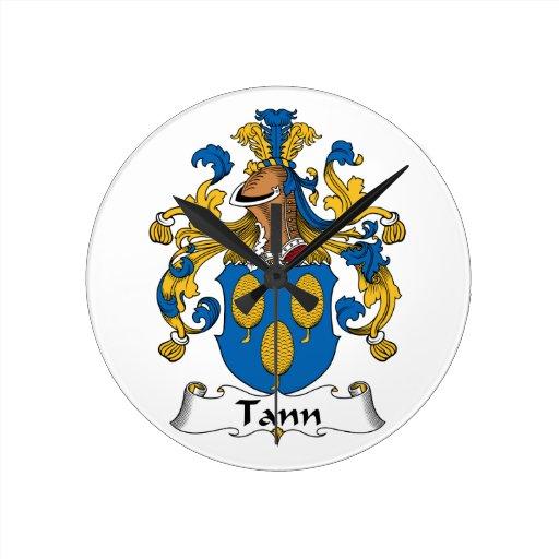 Escudo de la familia de Tann Relojes