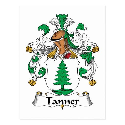 Escudo de la familia de Tanner Postales