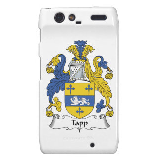 Escudo de la familia de Tapp Droid RAZR Carcasas