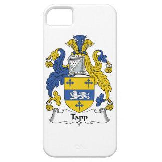 Escudo de la familia de Tapp iPhone 5 Case-Mate Fundas