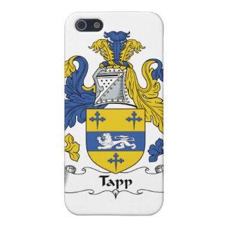 Escudo de la familia de Tapp iPhone 5 Funda
