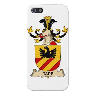 Escudo de la familia de Tapp iPhone 5 Cobertura