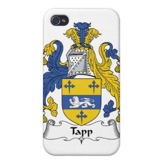 Escudo de la familia de Tapp iPhone 4 Fundas