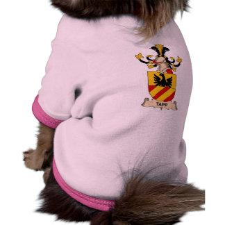 Escudo de la familia de Tapp Ropa Para Mascota