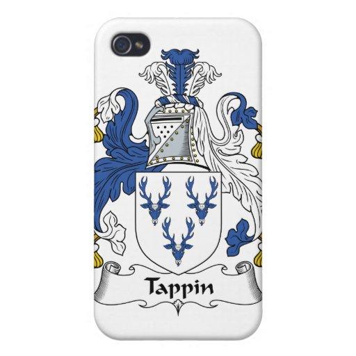 Escudo de la familia de Tappin iPhone 4 Fundas