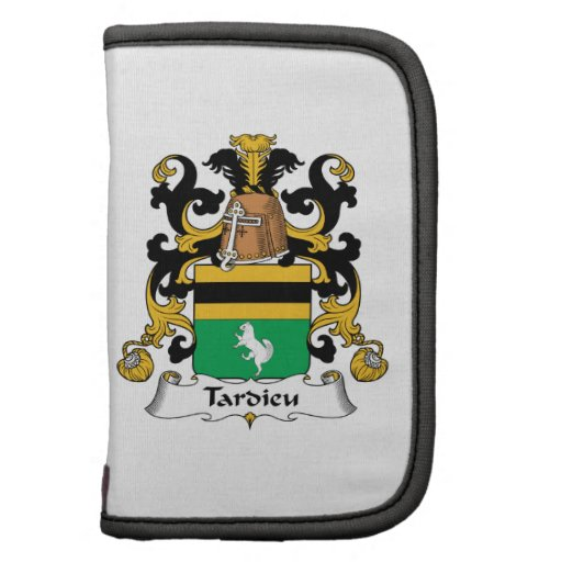 Escudo de la familia de Tardieu Planificador