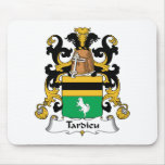 Escudo de la familia de Tardieu Tapete De Raton