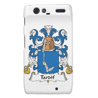 Escudo de la familia de Tardif Motorola Droid RAZR Carcasa