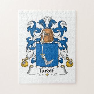 Escudo de la familia de Tardif Rompecabezas