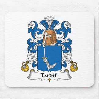 Escudo de la familia de Tardif Alfombrillas De Raton