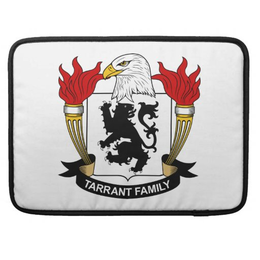 Escudo de la familia de Tarrant Fundas Macbook Pro
