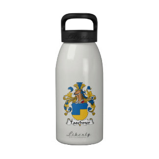 Escudo de la familia de Taschner Botellas De Beber