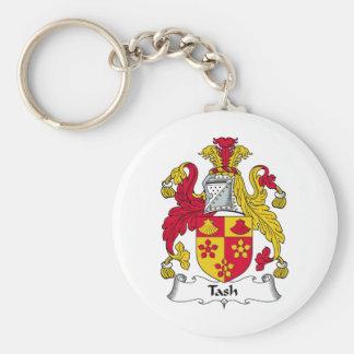 Escudo de la familia de Tash Llaveros Personalizados