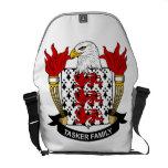 Escudo de la familia de Tasker Bolsas Messenger