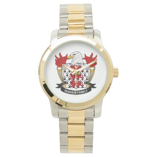 Escudo de la familia de Tasker Relojes