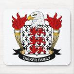 Escudo de la familia de Tasker Alfombrilla De Raton