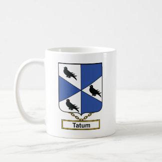 Escudo de la familia de Tatum Taza