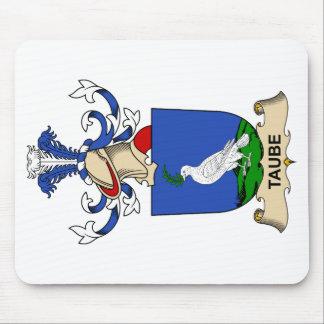 Escudo de la familia de Taube Alfombrillas De Ratón
