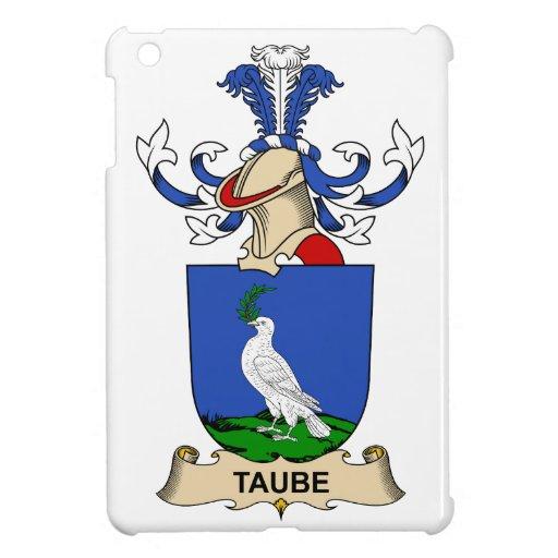 Escudo de la familia de Taube iPad Mini Protectores