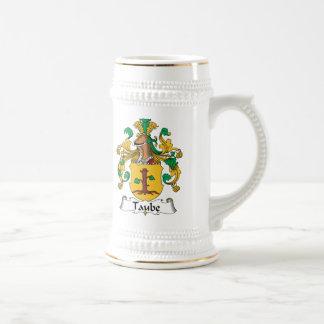 Escudo de la familia de Taube Jarra De Cerveza
