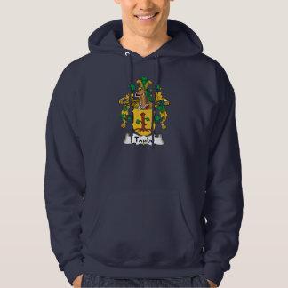Escudo de la familia de Taube Suéter Con Capucha