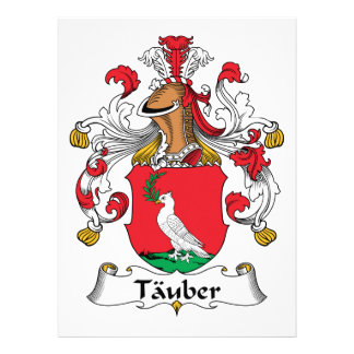 Escudo de la familia de Tauber Anuncio Personalizado