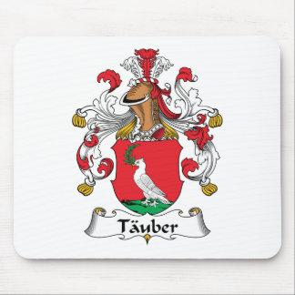 Escudo de la familia de Tauber Tapete De Ratones