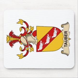 Escudo de la familia de Tauber Alfombrillas De Ratón