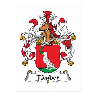 Escudo de la familia de Tauber Tarjetas Postales