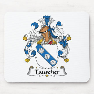 Escudo de la familia de Tauscher Mousepad