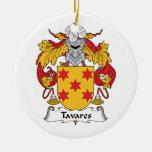 Escudo de la familia de Tavares Adornos De Navidad