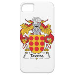 Escudo de la familia de Taveira iPhone 5 Case-Mate Funda