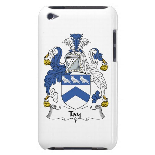 Escudo de la familia de Tay iPod Touch Case-Mate Cárcasa
