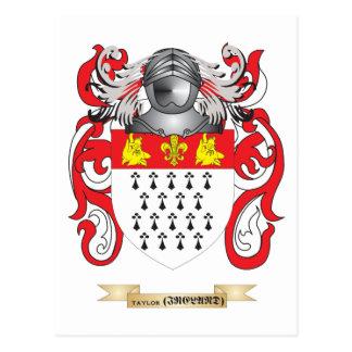 Escudo de la familia de Taylor (Irlanda) (escudo d Postal