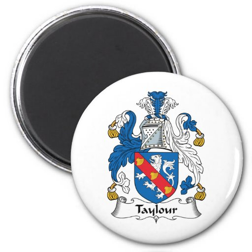 Escudo de la familia de Taylour Imán De Nevera