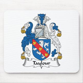 Escudo de la familia de Taylour Tapete De Ratón