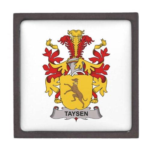 Escudo de la familia de Taysen Cajas De Regalo De Calidad