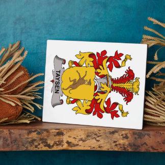 Escudo de la familia de Taysen Placas
