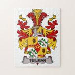 Escudo de la familia de Teilman Puzzles Con Fotos