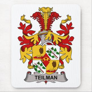 Escudo de la familia de Teilman Tapete De Ratón