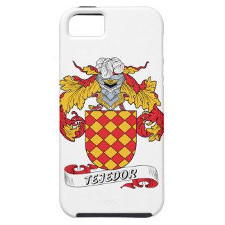 Escudo de la familia de Tejedor iPhone 5 Carcasa