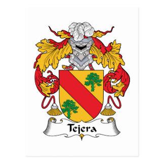 Escudo de la familia de Tejera Postales