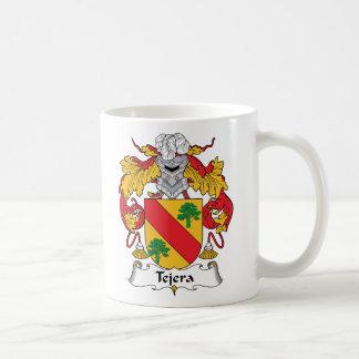 Escudo de la familia de Tejera Taza Básica Blanca