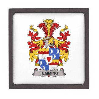 Escudo de la familia de Temming Caja De Regalo De Calidad