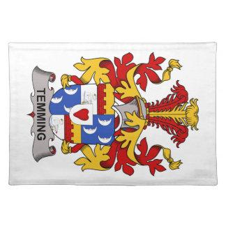 Escudo de la familia de Temming Mantel Individual