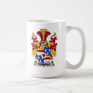 Escudo de la familia de Temming Tazas De Café