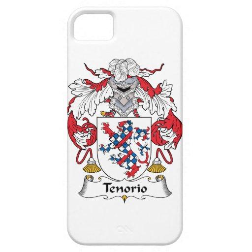Escudo de la familia de Tenorio Funda Para iPhone 5 Barely There