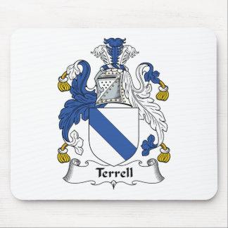 Escudo de la familia de Terrell Tapete De Ratones